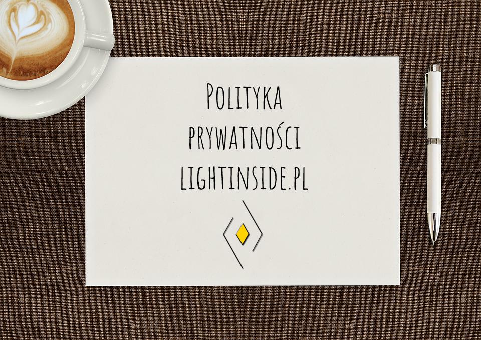 Polityka Prywatności lightinside.pl
