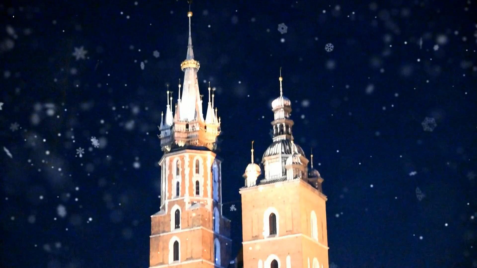 Kraków zimową porą