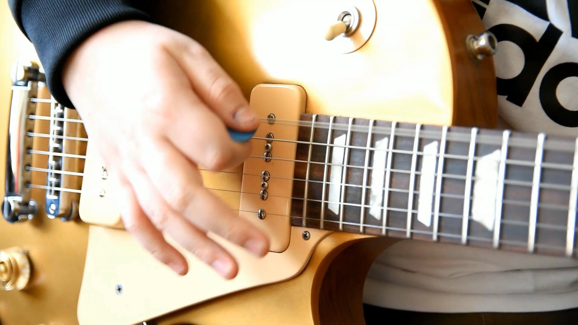 Nauka gry na gitarze video wizytówka